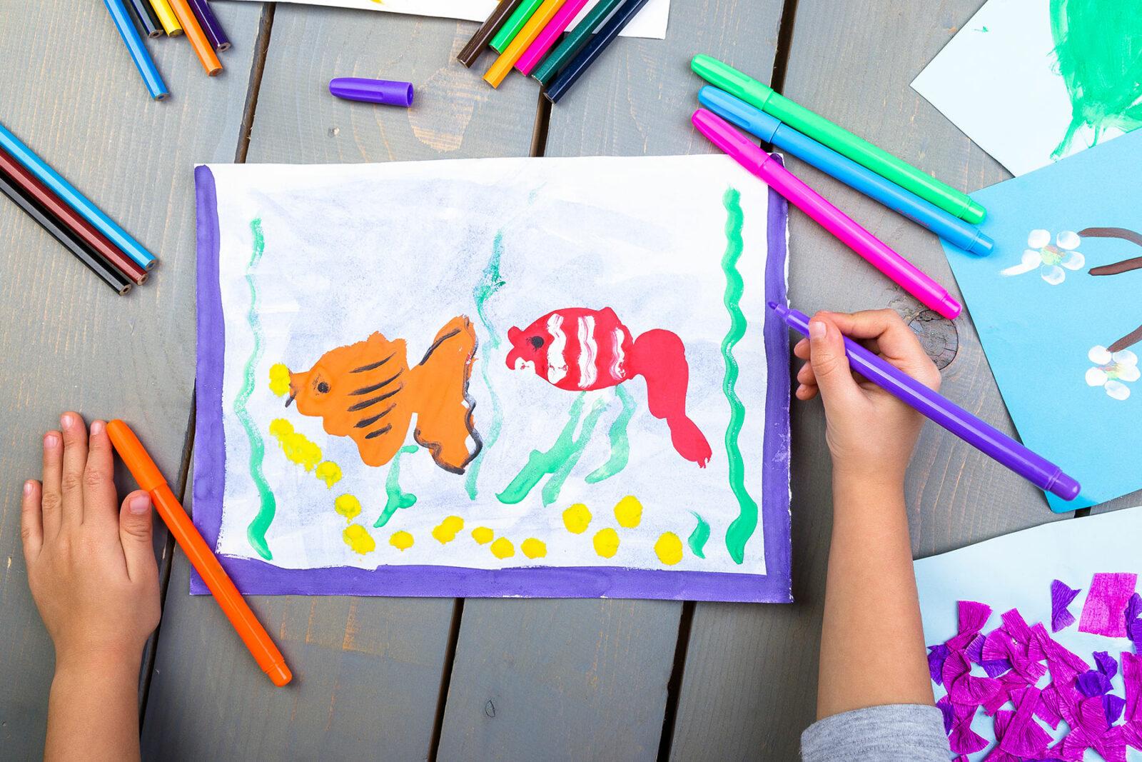 Psicologa Psicoterapeuta disegno infantile